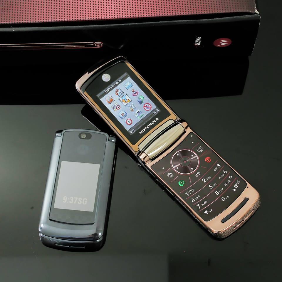 Điện thoại Motorola V3i, V8, V9 nắp gập sang trọng - 20