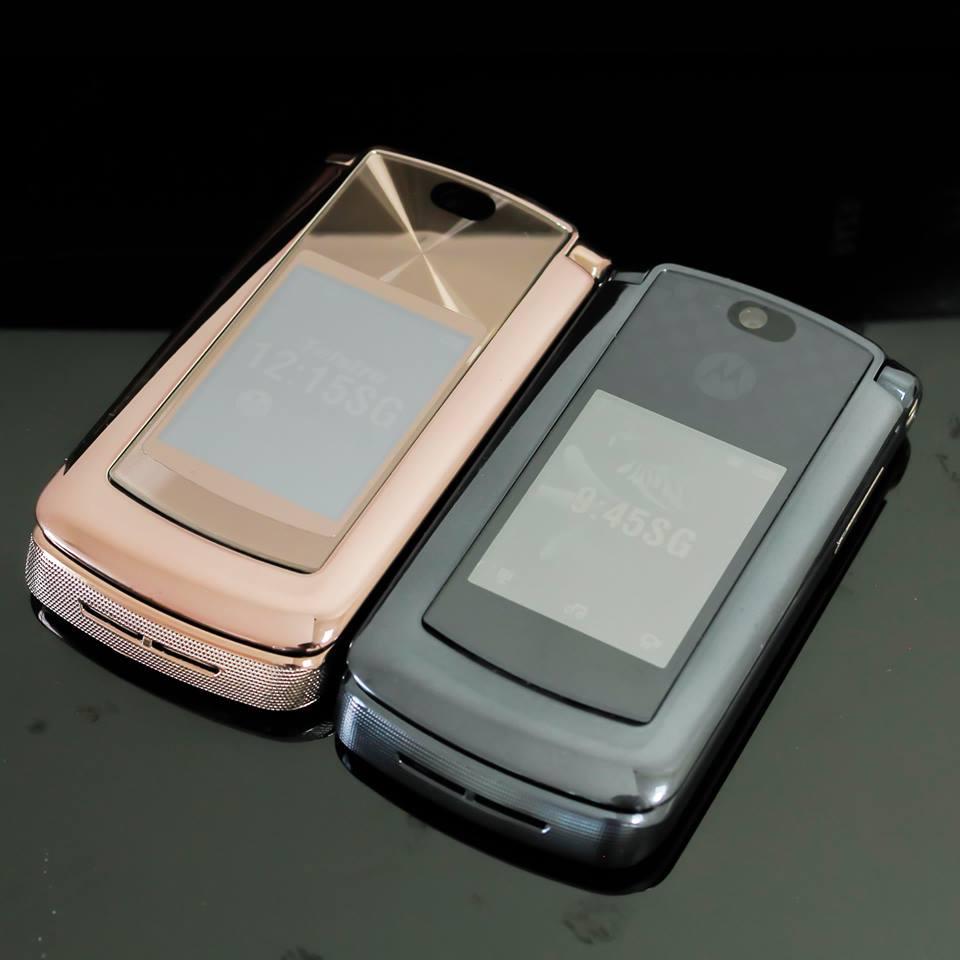 Điện thoại Motorola V3i, V8, V9 nắp gập sang trọng - 18
